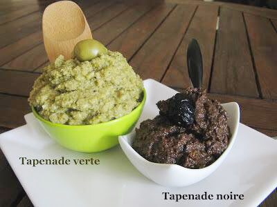 Recette : Tapenade maison (home made)