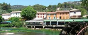 French immersion in Luberon