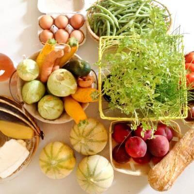 Organic supermarket
