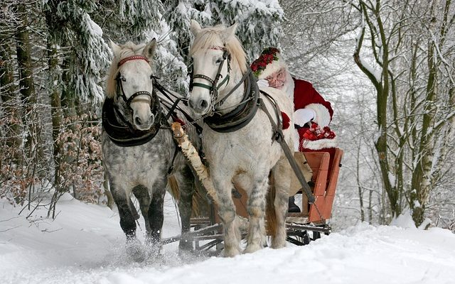 Le Père Noël n'est pas en retard