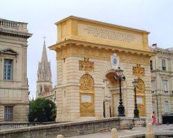 Arc of triumph Montpellier