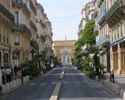 Street of Montpellier