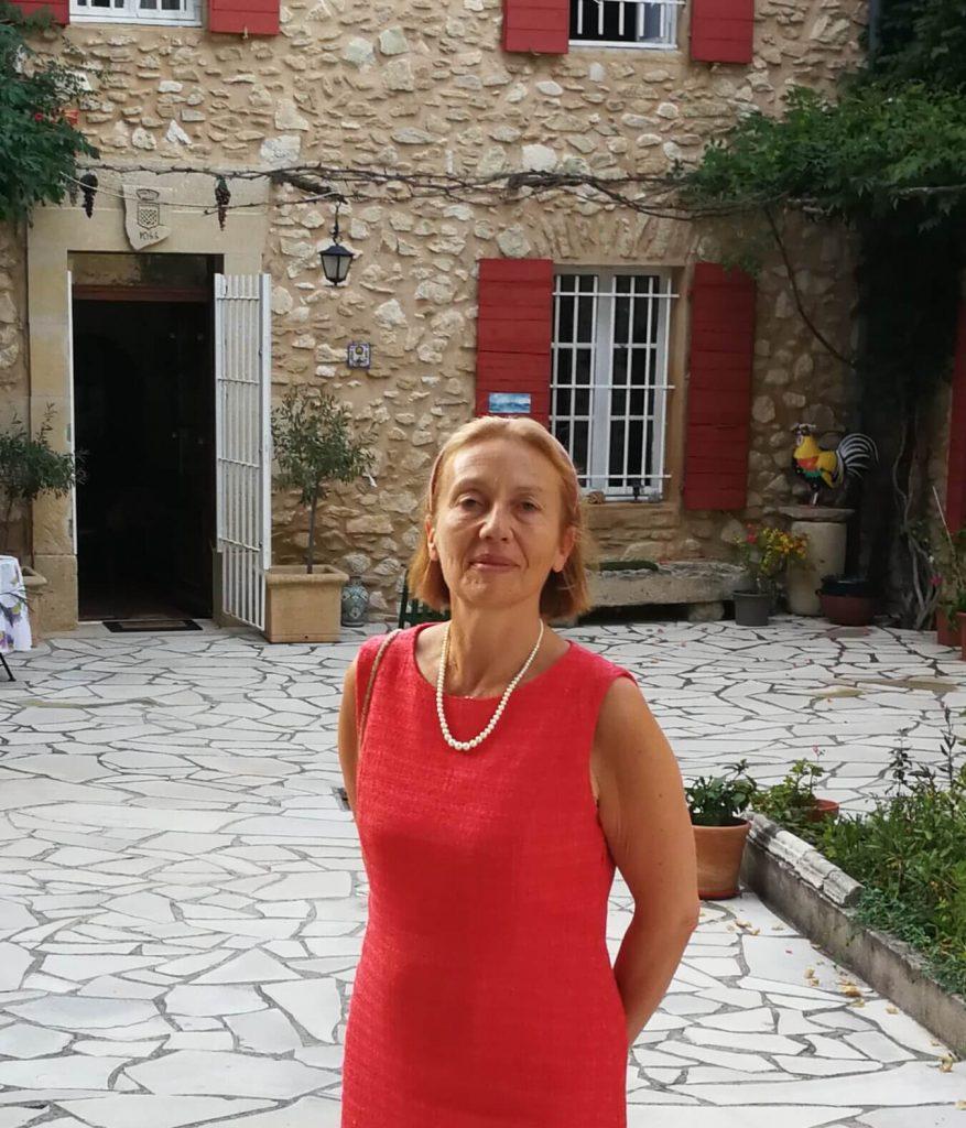 Immersion en Français en Mont Ventoux, prof. Laurence