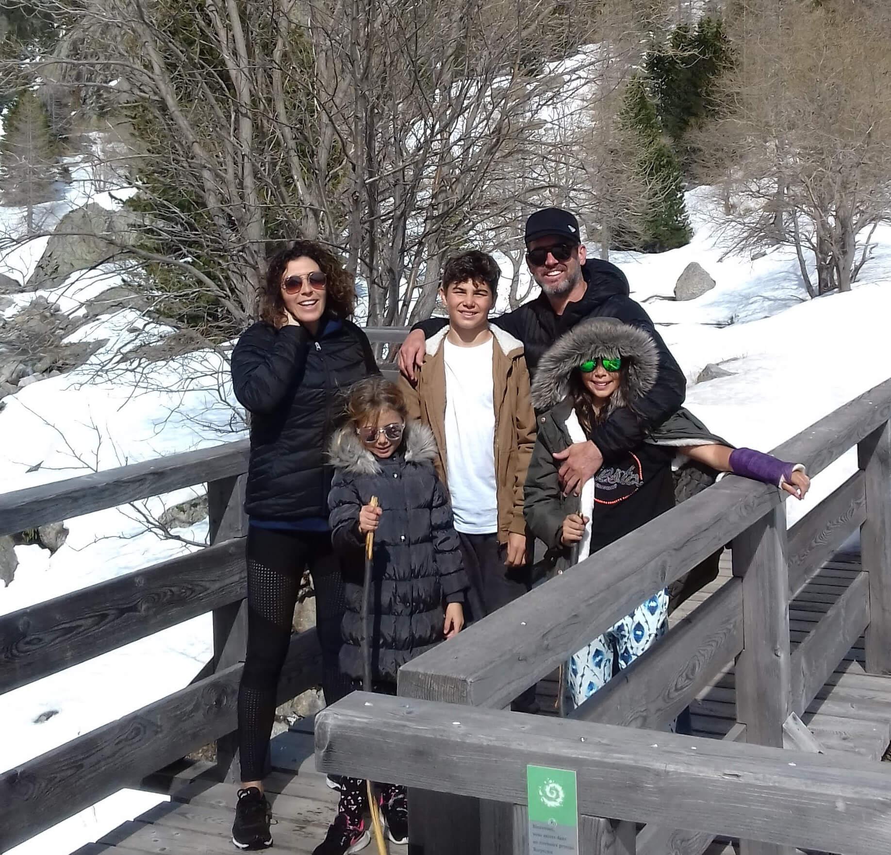 Mélanie, Craig et les filles
