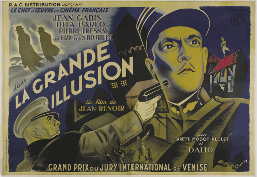 La Grande Illusion (The Grand Illusion) – 1937