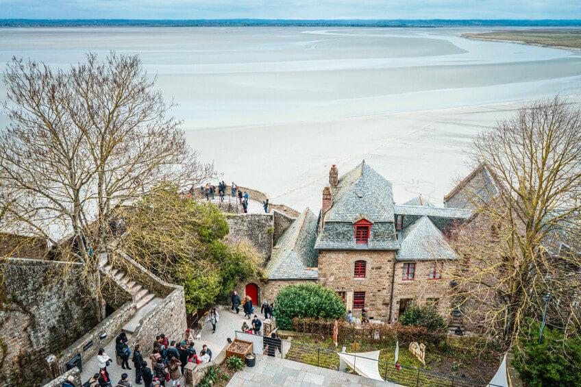 Visite de la Normandie