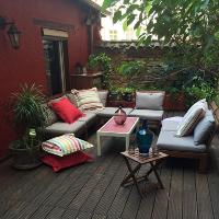 Gérard accomodation, terrace