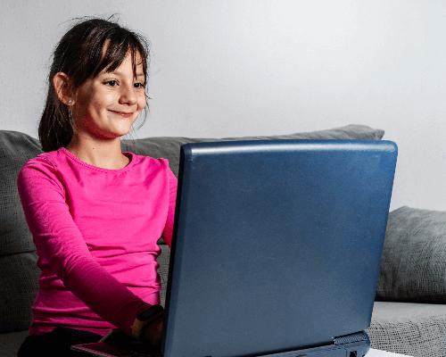 Learn French online happy Children